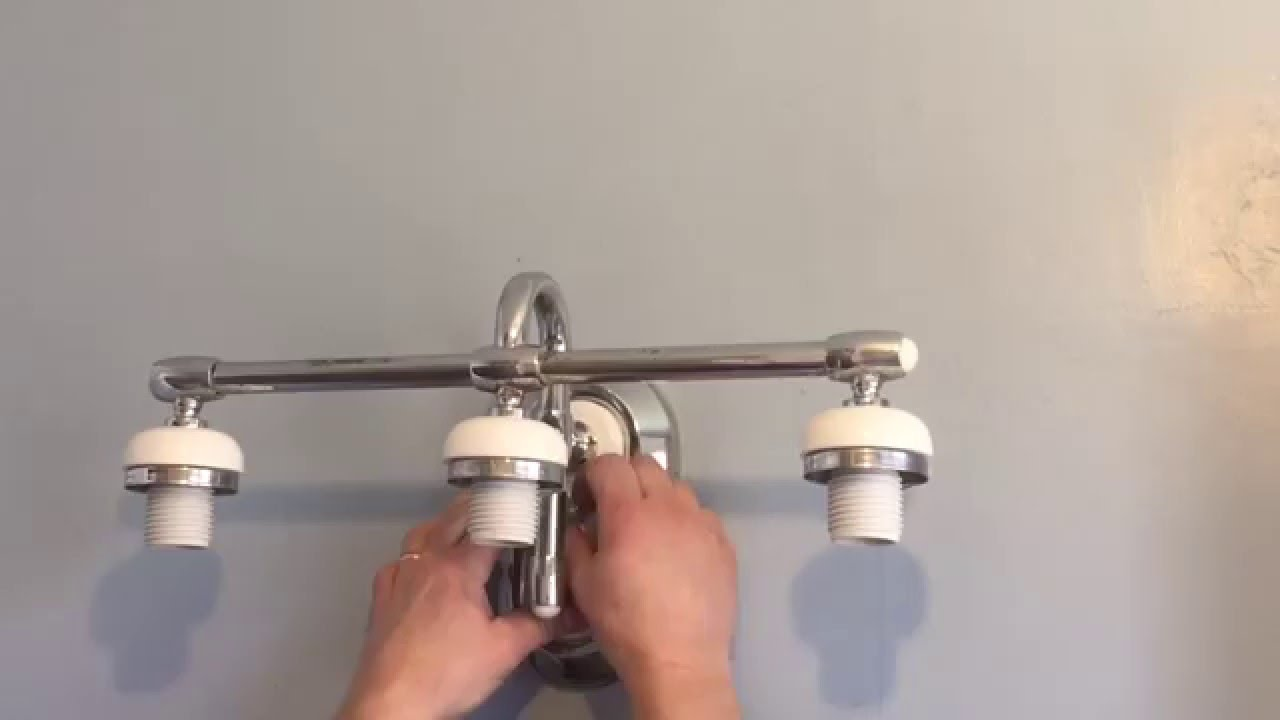 How to change a light fixture - YouTube