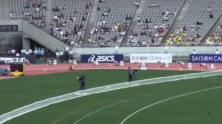 97th日本陸上 女子200m決勝 福島千里 Chisato Fukushima 23.25(+0.5) (2013/6/9 味スタ)
