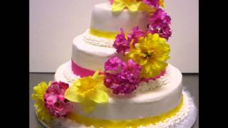 Wedding Cakes with Indian song.wmv