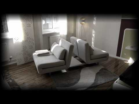 ein sofa f r alle f lle youtube. Black Bedroom Furniture Sets. Home Design Ideas