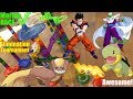 Marble Racing Elimination Tournament! Dragon Ball Z Versus POKEMON! Family Toy Race #68
