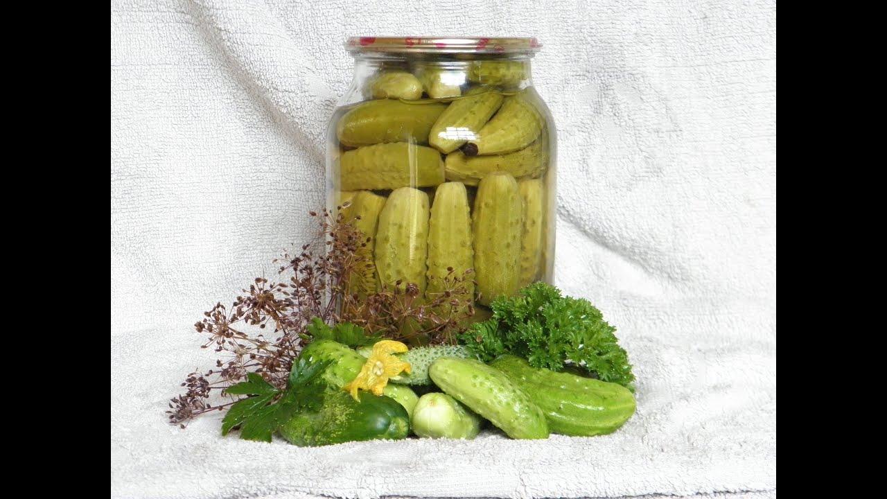 Вкусные огурцы на зиму рецепты на литровую банку