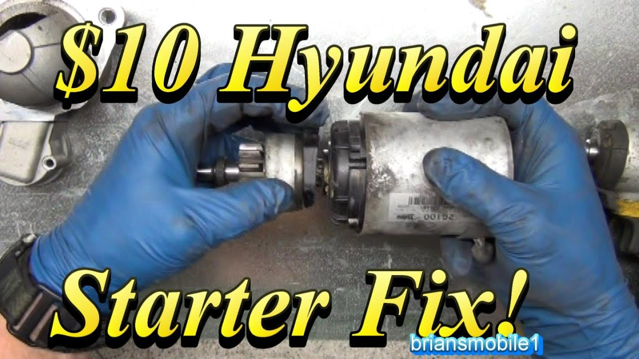 10 Hyundai Starter Fix Youtube 2001 Elantra Fuse Box Map
