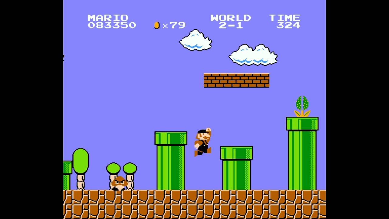 how to play super mario bros nes