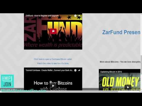 Zarfund Review Tutorial   How to Get Started Fast!!!