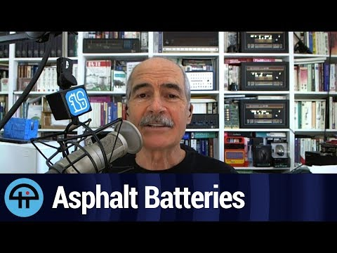 Scientists Make Lithium Batteries Better with Asphalt