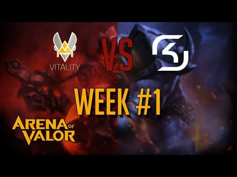 Arena of Valor: Valor Series Team Vitality vs SK Gaming Week #1