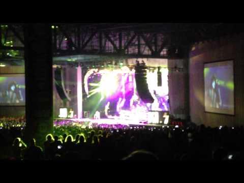 KISS Concert Opening At PNC Pavilion, Charlotte NC. 7/19/14