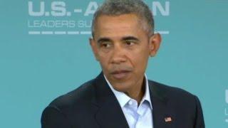 President Obama: I believe Donald Trump won't be pre...
