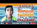 Tongue Twister Challenge for Kids