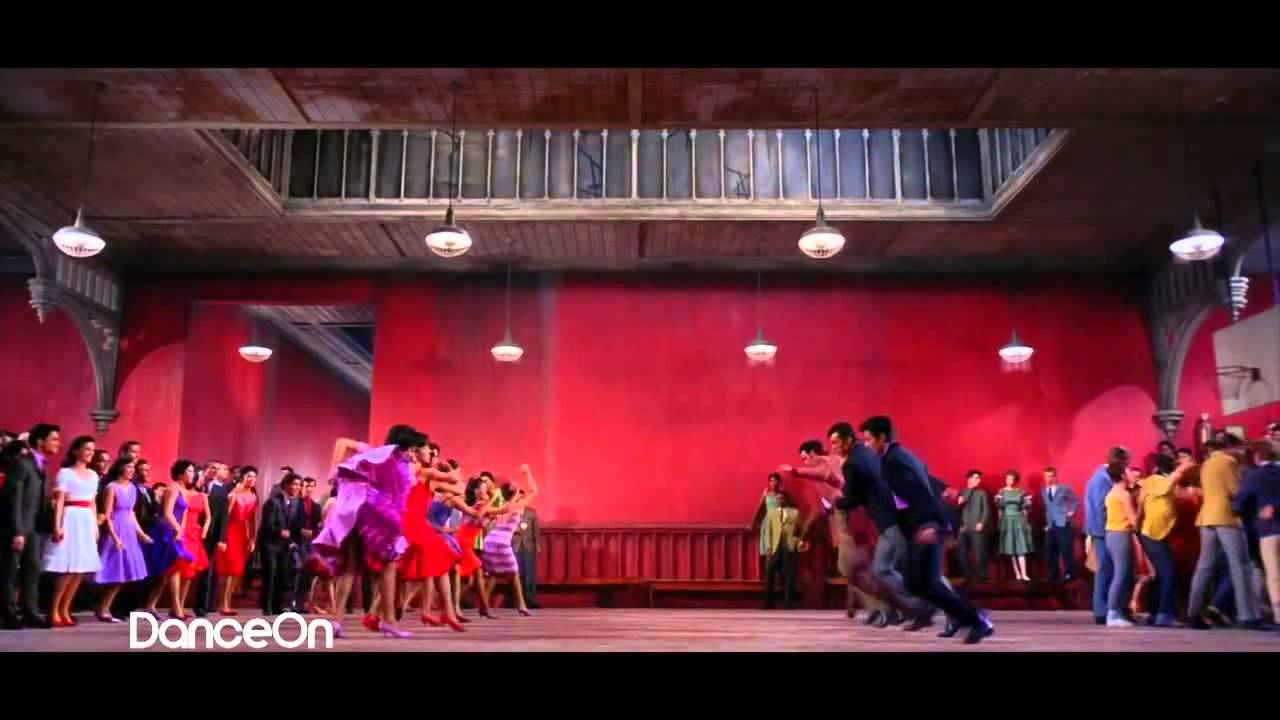 West side story dance at the gym mambo official
