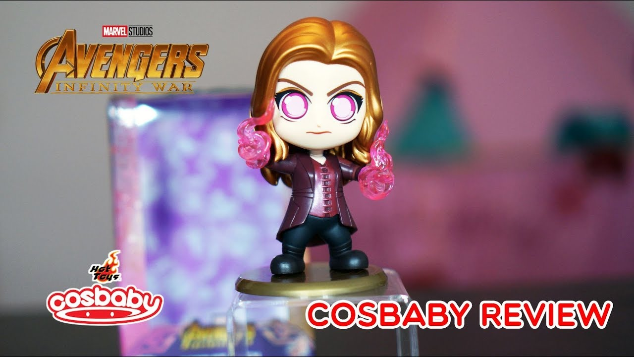 hot toys Cosbaby Marvel Avengers Infinity War Scarlet Witch
