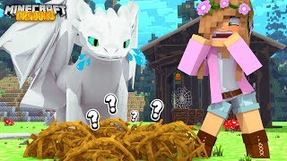 Twin Baby Night Fury Egg Is Missing  Minecraft Dragons  Little Kelly
