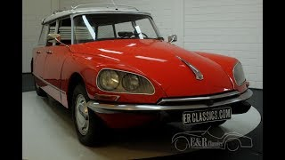 Citroën ID20 Break Familiale 1970-VIDEO- www.ERclassics.com
