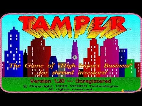 Tamper Gameplay (PC Game, 1993)