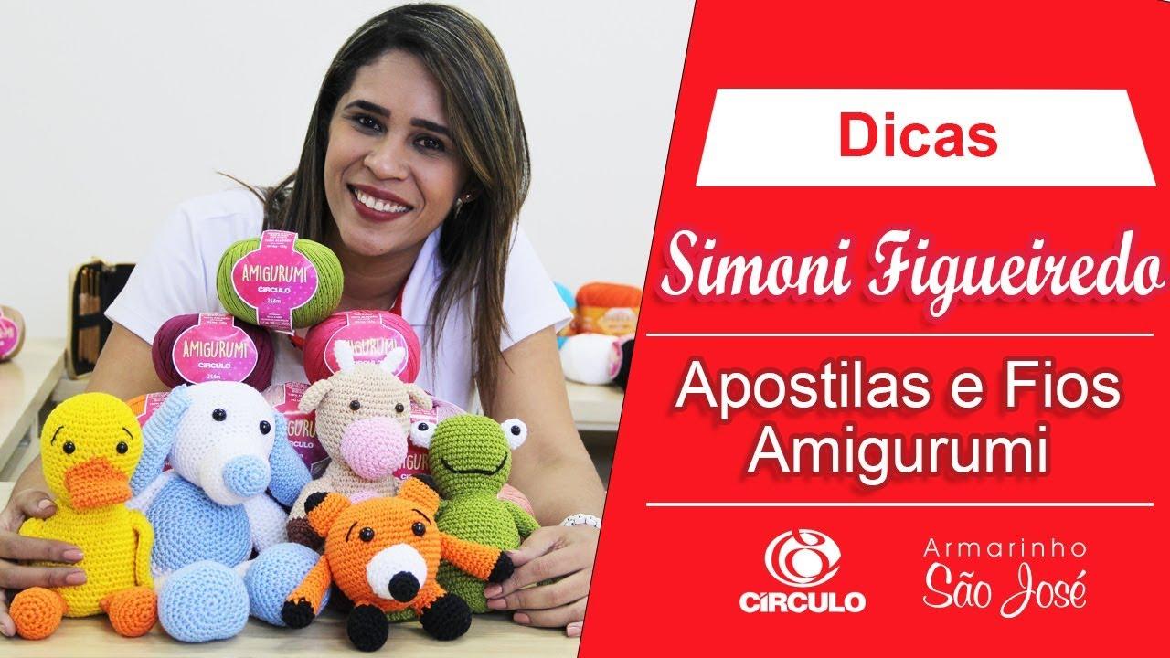 Fio Amigurumi Círculo 254 metros | Armarinho São José | 720x1280