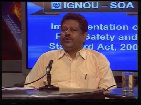 Implementation of food safety and standards act 2006