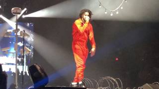 J. Cole Live in Las Vegas, Nevada at MGM Grand Garden Arena! 4 Your Eyez Only Tour 2017!