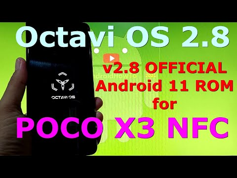 Octavi OS 2.8 OFFICIAL for Poco X3 NFC (Surya) Android 11