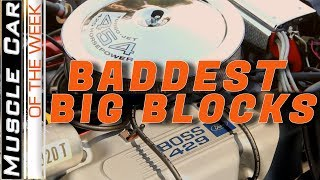 Baddest Big Blocks - Muscle Car Of The Week Video Episode 328
