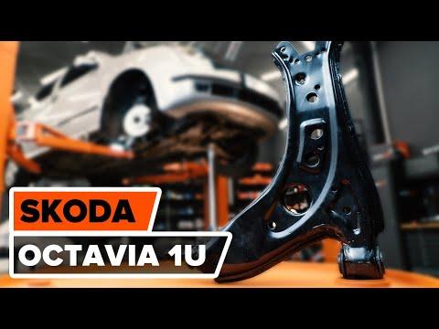 Para SKODA OCTAVIA 04 /> 13 Delantero Puntal Amortiguador Montaje Superior /& Kit del cojinete