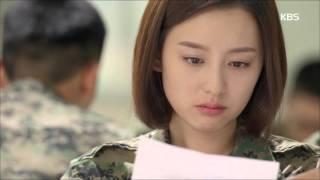 [태양의 후예] - 진구, 김지원에 유서 프러포즈 '뜨겁게 키스'