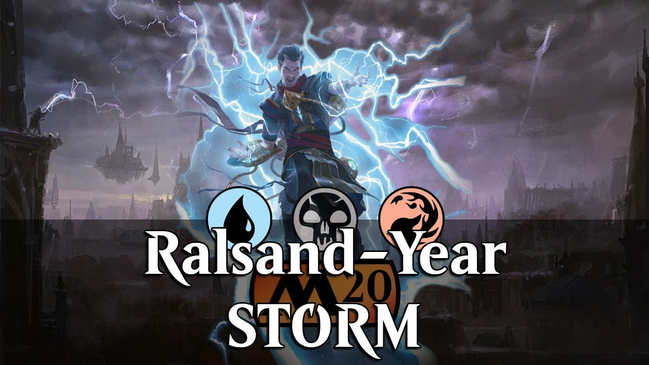 MTG Arena M20 | Thousand-Year Storm Ft  Ral and Ego DeckTech & Gameplay  [Pouring]
