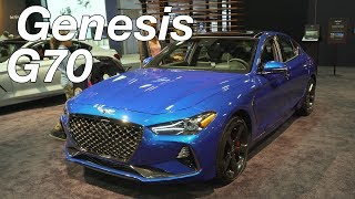 2019 Genesis G70 Show & Tell at the DC Auto Show