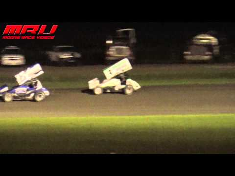 National Sprint League Feature at Park Jefferson Speedway on July 10th, 2015