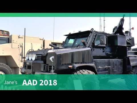 AAD 2018: Denel RG31 armoured personnel carrier