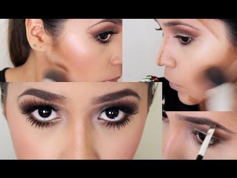Como Maquillarse Como Kim Kardashian / Kim Kardashian Makeup Inspired , Ydelays