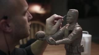 видео Скульптура ветерана