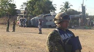 México: cayó un helicóptero que se dirigía a la zona afectada por el sismo y dejó 13 muertos