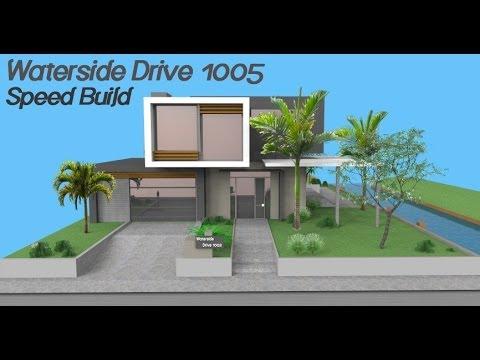 Google SketchUp Speed Building - Waterside Drive 1005