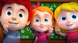 Numbers Song | Learn 1 to 10 | Schoolies Educational video for Kids and Children