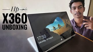 UNBOXING - HP x360 Convertible 2 in 1 touchscreen Laptop | Hands on and First Impression| HINDI