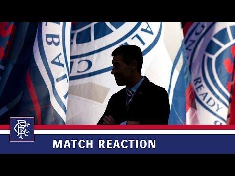 REACTION | Pedro Caixinha | Rangers 6 - Dunfermline Athletic