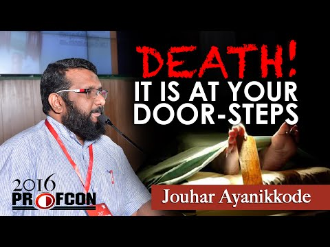 MSM PROFCONᴴᴰ 2016 :: Jouhar Ayanikkode :: DEATH! It is Your Door Steps (Maranam)