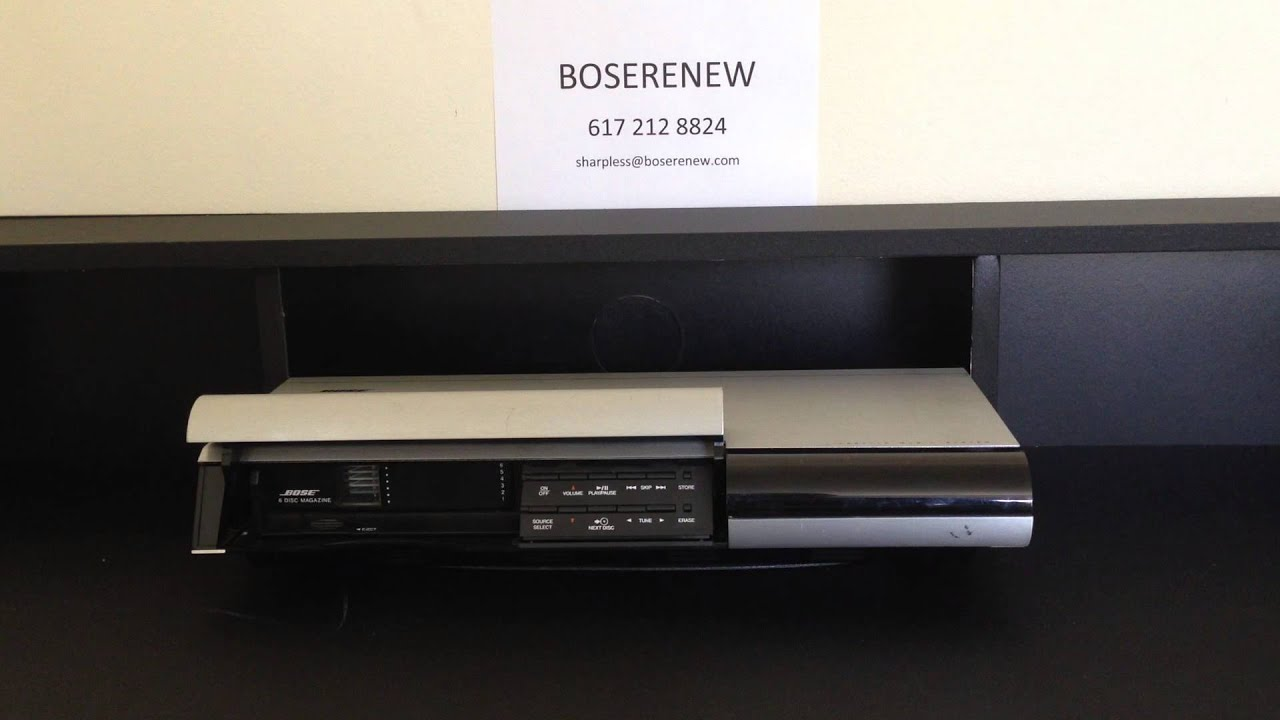 REPAIR SERVICE for Bose Music Center 20 CD Player Changer Lifestyle 25 30 50 C1