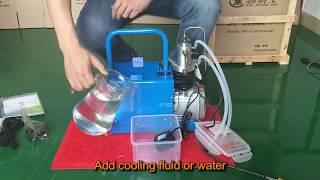 xinyongshi mini compressor show 4500psi pcp air