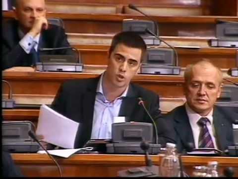 Janko Radaković na sednici Skupštine o izmenama Zakona o planiranju i izgradnji