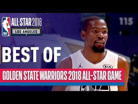 BEST of Warriors | Curry, Durant, Thompson, Green in 2018 NBA All-Star Game