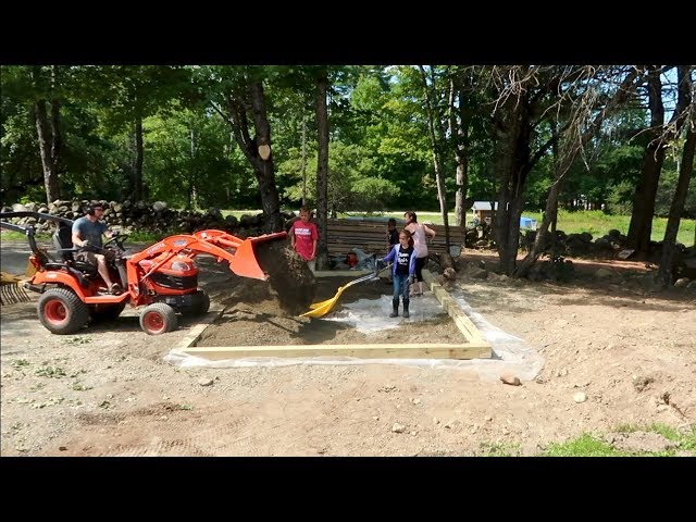 I Bet you've Never Seen it DONE like this BEFORE Setting the Foundation for the Post and Beam SHED