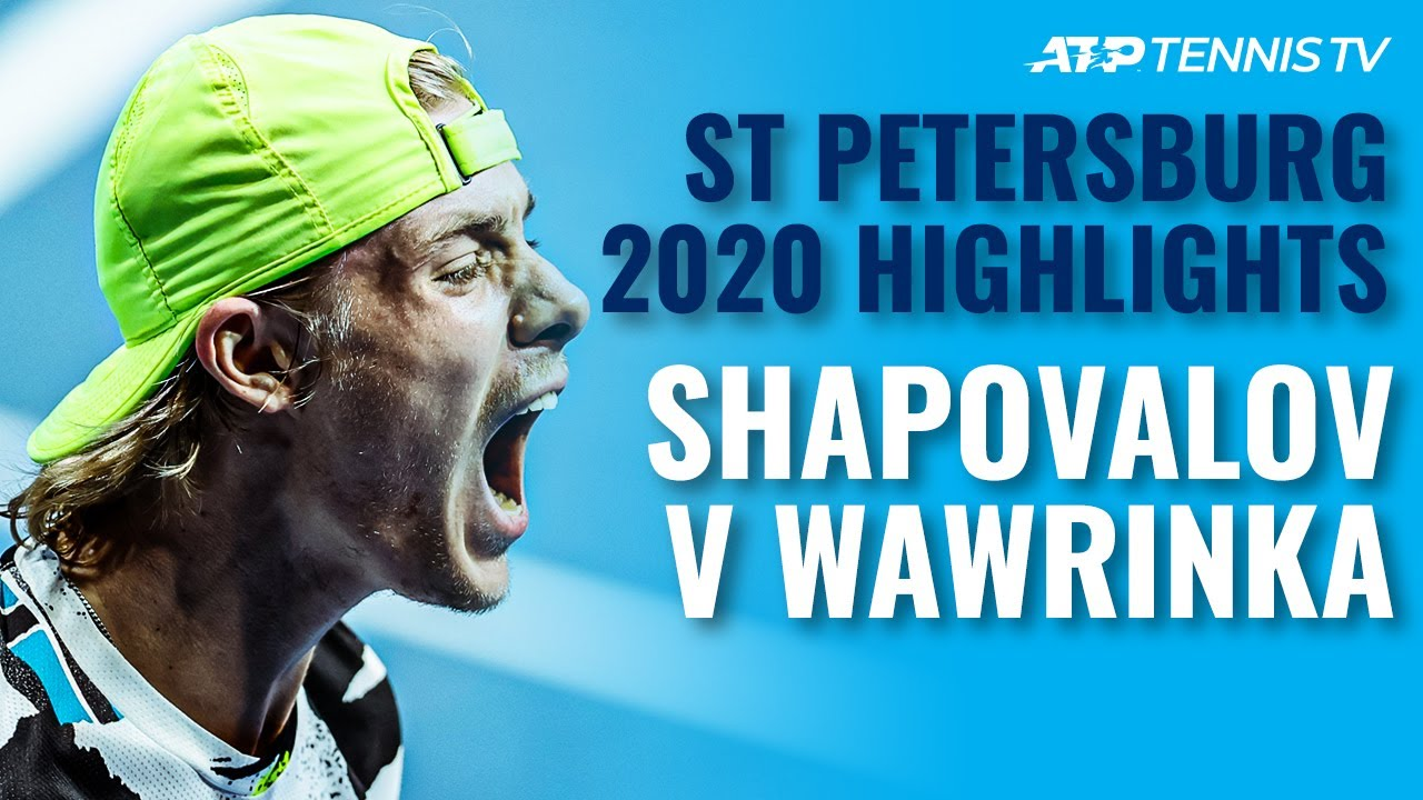 Denis Shapovalov vs Stan Wawrinka: Best Moments! | St Petersburg 2020