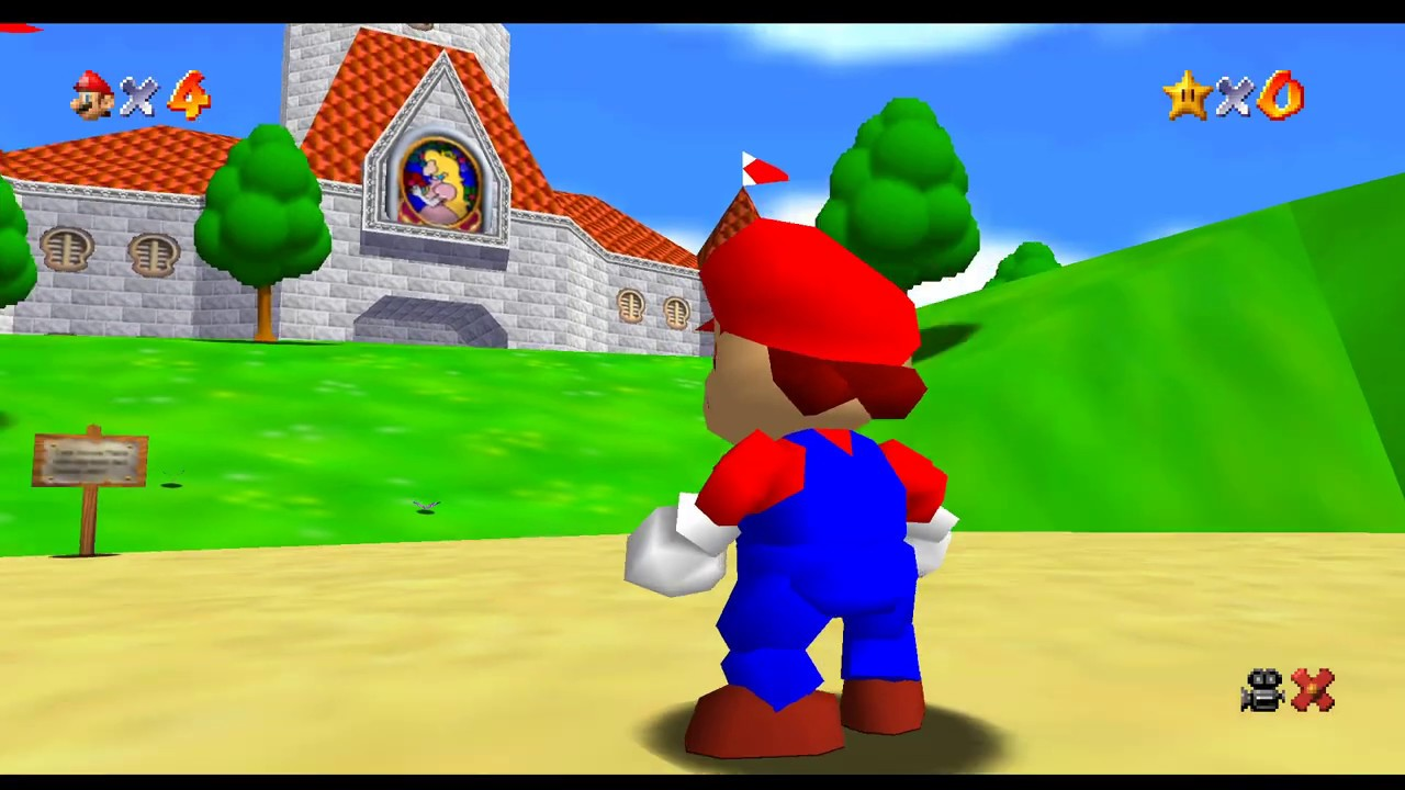 Mario 64 Smooth Af Part 1 Youtube