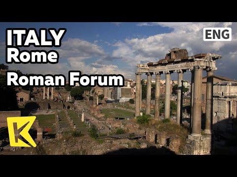 【K】Italy Travel-Rome[이탈리아 여행-로마]고대 중심지, 포로 로마노/Roman Forum/Foro Romano/Center/Temple