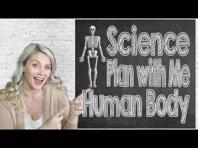 SCIENCE PLAN WITH ME HUMAN BODY | Body Worlds is Coming | Human Body Unit Study | Secular Homeschool