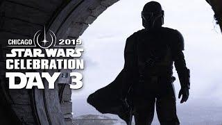 Star Wars Celebration: Day 3 - The Mandalorian & The Clone Wars!