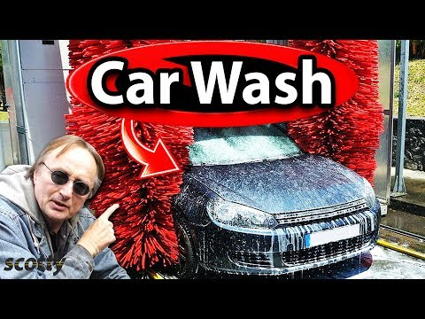 Why Not to Use an Automatic Car Wash