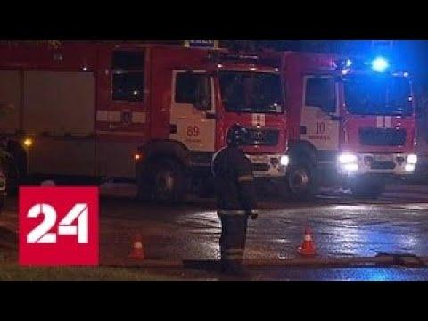 Пожар на востоке Москвы потушен